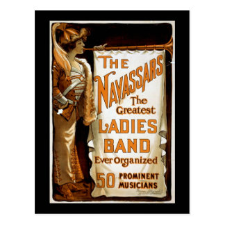 "Carte Postale ""Vaudeville vintage du Navassars"""