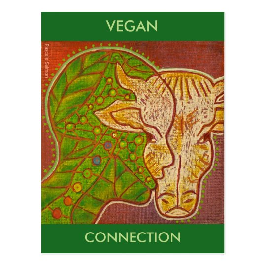 Carte Postale vegan connection