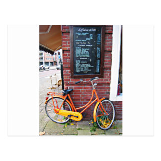 Carte Postale Vélo d'Amsterdam