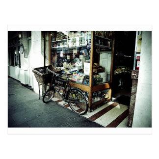 Carte Postale Vélo dans Soho