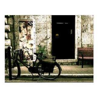 Carte Postale Vélo de nostalgie de deux-roues