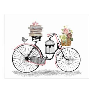 Carte Postale Vélo de poussée d'imaginaire
