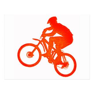 Carte Postale Vélo lacé