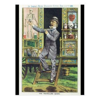 """Carte Postale """"Vendeur de poudre de perlimpinpin du charlatan de"""