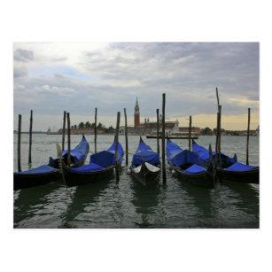 Cartes postales Gondolier Venise originales | Zazzle.fr