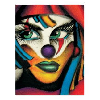 Carte Postale Venise le clown