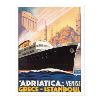 Carte Postale Venise vintage Grèce Istamboul
