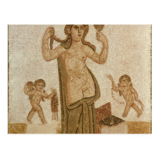 Carte Postale Vénus à sa toilette