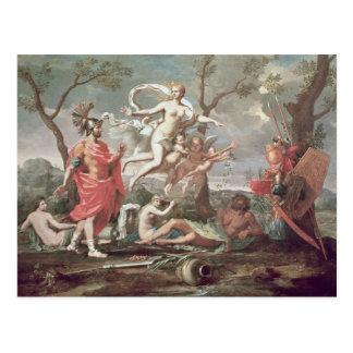 Carte Postale Vénus armant Aeneas, 1639