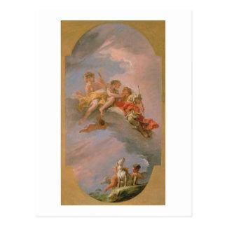 Carte Postale Vénus et Adonis (huile sur la toile)