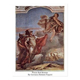 Carte Postale Vénus et Aeneas par Giovanni Battista Tiepolo