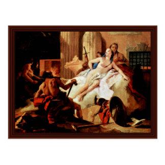 Carte Postale Vénus et Vulcan par Tiepolo Giovanni Battista