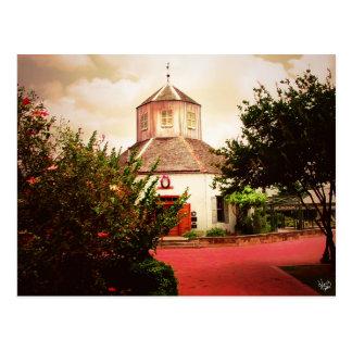Carte Postale Vereins Kirche (2), Fredericksburg, TX