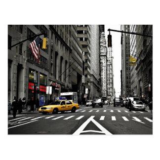 Carte Postale Vers le haut de Broadway