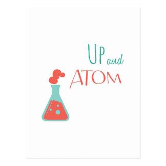 Carte Postale Vers le haut de et atome
