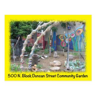 Carte postale verte de St de Duncan de l'espace de