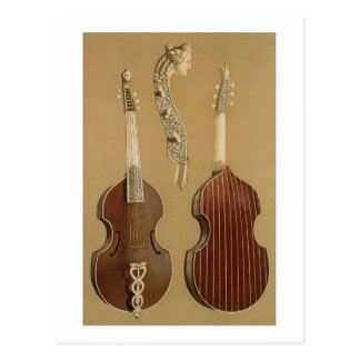 Carte Postale Vétiver de DA d'alto, ou viole basse, par Joachim