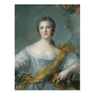 Carte Postale Victoire De France chez Fontevrault, 1748