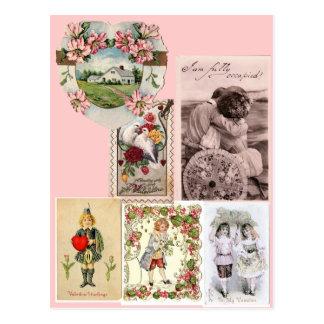 Carte postale victorienne de Saint-Valentin