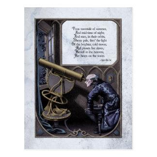 "Carte postale victorienne de Steampunk de ""étoile"