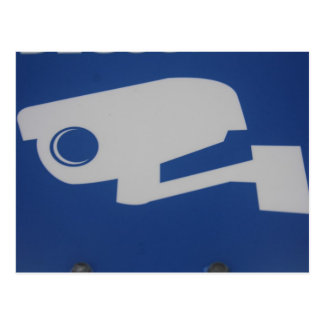 Carte Postale video surveillance postal card