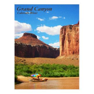 Carte Postale Vie du fleuve Colorado