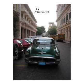 Carte Postale vieille la Havane automatique