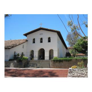 Carte postale : Vieille mission, San Luis Obispo