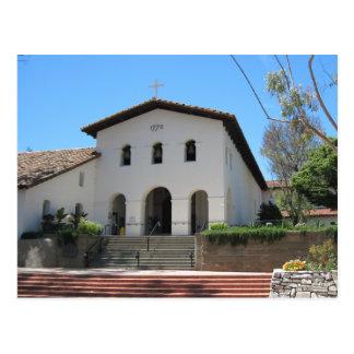 Carte Postale Vieille mission, San Luis Obispo