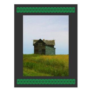 Carte Postale Vieille photographie de Saskatchewan de ferme