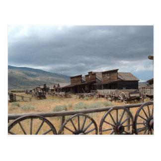 Carte Postale Vieille ville de traînée, Cody, Wyoming