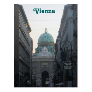 Carte Postale Vienne, Autriche