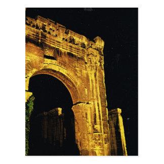 Carte Postale Vienne, le Rhône, passage au forum romain