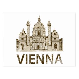 Carte Postale Vienne vintage