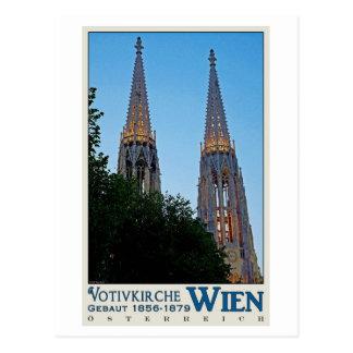 Carte Postale Vienne - Votivkirche