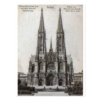 Carte Postale Vienne, Votivkirche, 1908