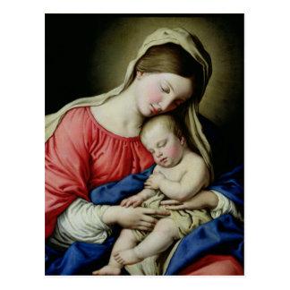 Carte Postale Vierge et enfant