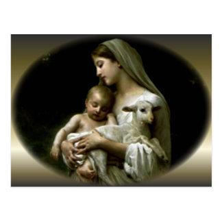 Carte Postale Vierge Marie béni - mère de Dieu