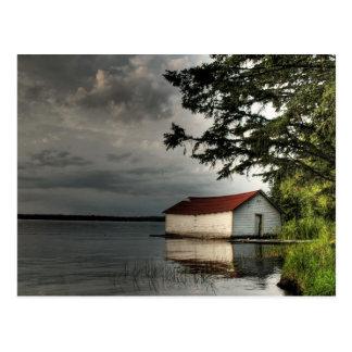Carte Postale Vieux Boathouse
