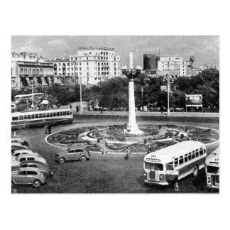 Carte Postale Vieux cercle de Bakou - d'Azneft