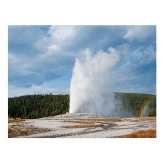 Carte Postale Vieux geyser fidèle
