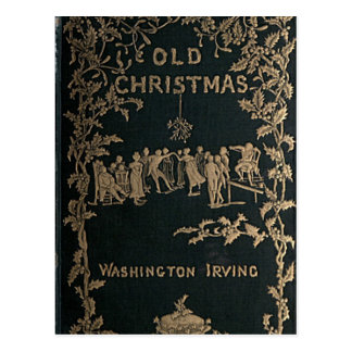 Carte Postale Vieux Noël - Washington Irving