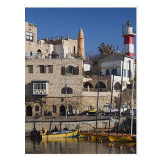 Carte Postale Vieux port de l'Israël, Tel Aviv, Jaffa, Jaffa