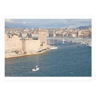 Carte Postale Vieux port de Marseille