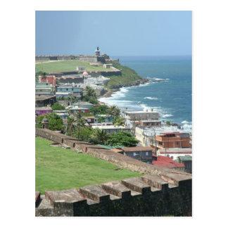 Carte Postale Vieux rivage de San Juan