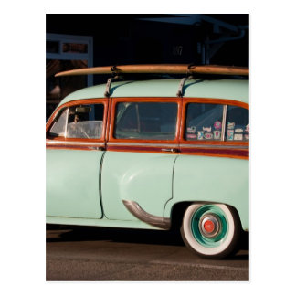Carte Postale Vieux Woody Pontiac