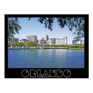 Carte Postale Viewd d'Orlando, la Floride de luzerne de lac
