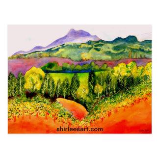 Carte Postale Vignoble du comté de Sonoma