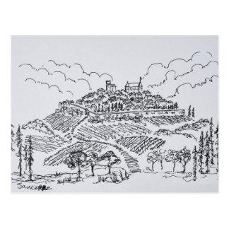 Carte Postale Vignobles de Sancerre | le Val de Loire, France