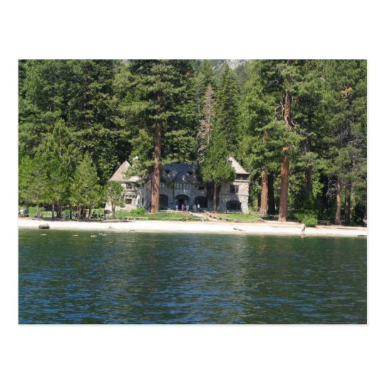 Carte Postale Vikingsholm, Emerald Bay, Lake Tahoe, California